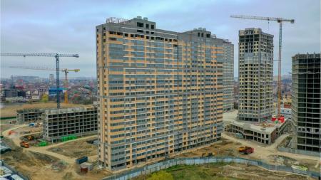 Отчет о строительстве ЖК «Сказка Град», апрель, 2020г.