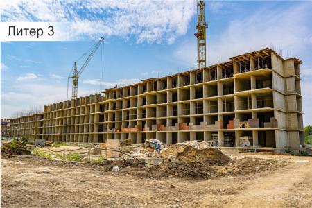 Отчет о строительстве ЖК «Акварели 3», сентябрь, 2019г.