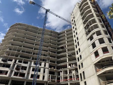 Отчет о строительстве ЖК «Development Plaza», октябрь, 2019г.