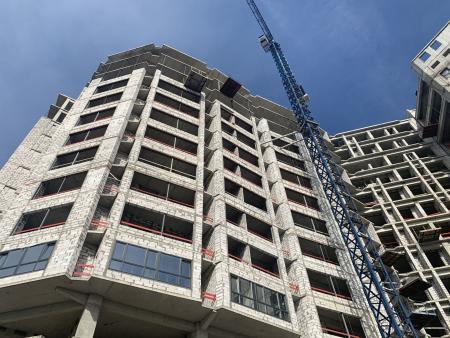 Отчет о строительстве ЖК «Development Plaza», март, 2020г.