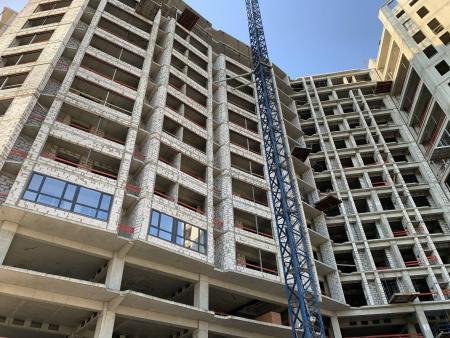 Отчет о строительстве ЖК «Development Plaza», апрель, 2020г.