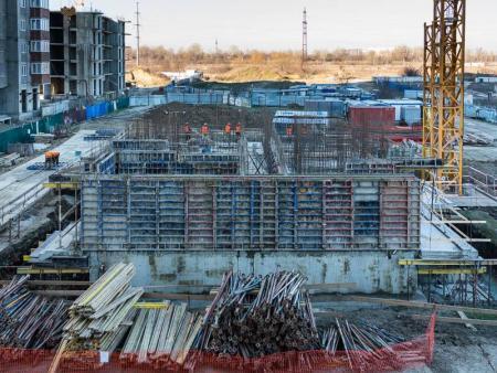 Отчет о строительстве ЖК «Стрижи», февраль, 2019г.