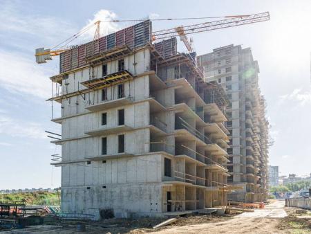 Отчет о строительстве ЖК «Стрижи», май, 2019г.