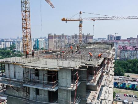 Отчет о строительстве ЖК «Стрижи», июль, 2019г.