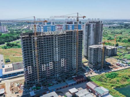 Отчет о строительстве ЖК «Стрижи», август, 2019г.