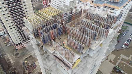 Отчет о строительстве ЖК «7 Вершин», январь, 2019г.