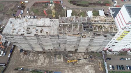 Отчет о строительстве ЖК «7 Вершин», март, 2019г.