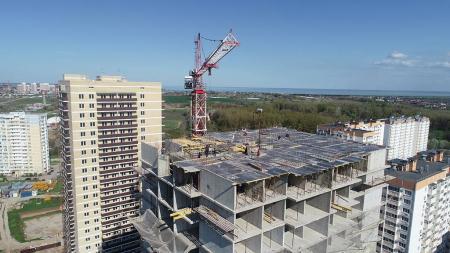 Отчет о строительстве ЖК «7 Вершин», апрель, 2019г.
