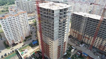 Отчет о строительстве ЖК «7 Вершин», август, 2019г.