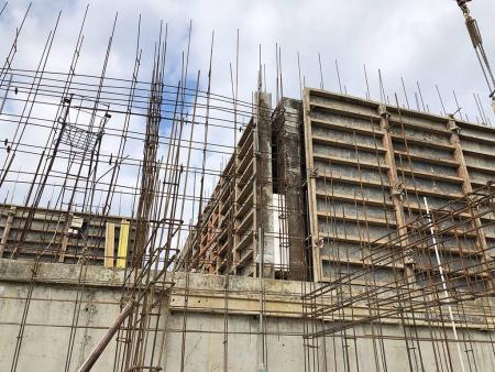 Отчет о строительстве ЖК «7 Вершин», январь, 2020г.