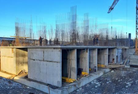 Отчет о строительстве ЖК «Галактика», январь, 2019г.