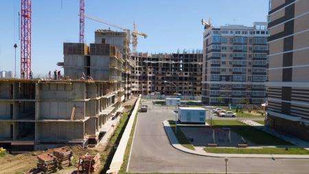 Отчет о строительстве Neo квартал «Красная площадь», август, 2019г.