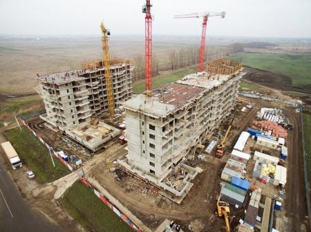 Отчет о строительстве Neo квартал «Красная площадь», февраль, 2018г.