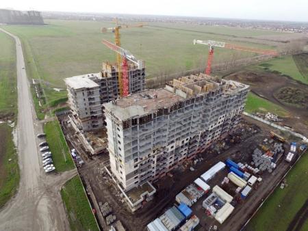 Отчет о строительстве Neo квартал «Красная площадь», март, 2018г.