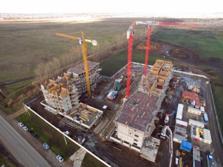Отчет о строительстве Neo квартал «Красная площадь», апрель, 2018г.
