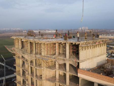 Отчет о строительстве Neo квартал «Красная площадь», январь, 2019г.