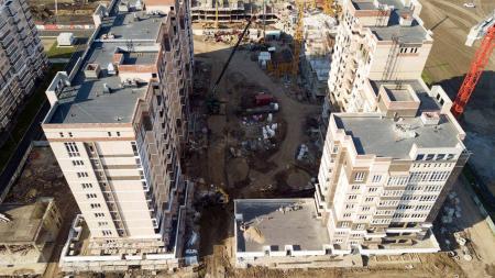 Отчет о строительстве Neo квартал «Красная площадь», апрель, 2019г.