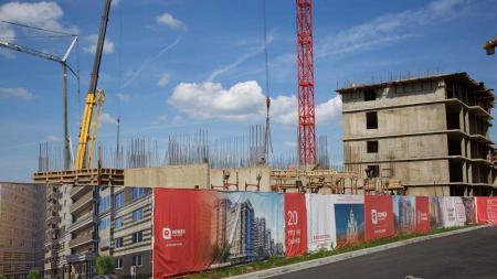 Отчет о строительстве Neo квартал «Красная площадь», май, 2019г.