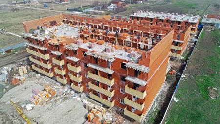Отчет о строительстве ЖК «Оазис», апрель, 2020г.