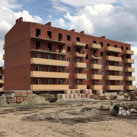 Отчет о строительстве ЖК «Оазис», май, 2020г.